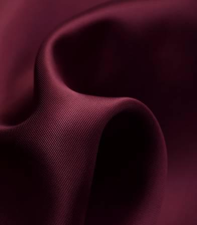 Tissu doublure satin viscose - Bordeaux