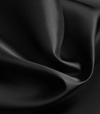Tissu doublure satin viscose - Noir