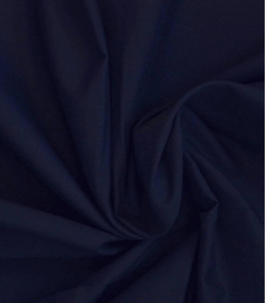 Voile de coton marine