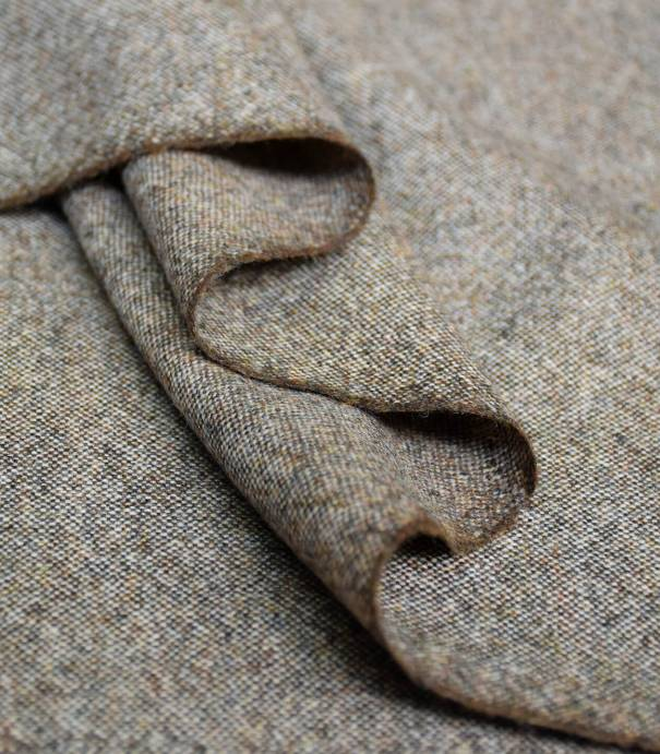 Tissu tweed Walnut