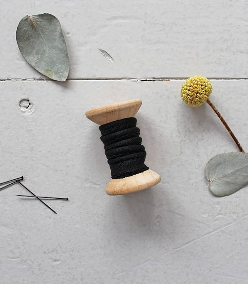 Passepoil - Crêpe black