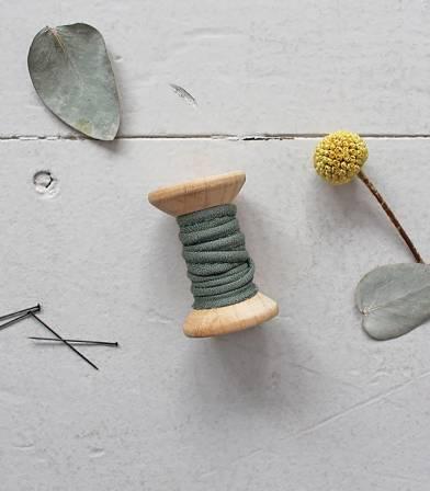 Passepoil - Crêpe cedar green