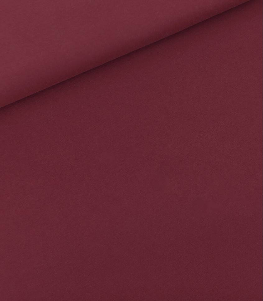 Tissu French terry - Bordeaux