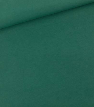 Tissu French terry - Vert bistro