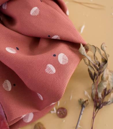 Tissu Seed - Chesnut