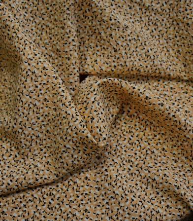 Tissu viscose Marion - Safran