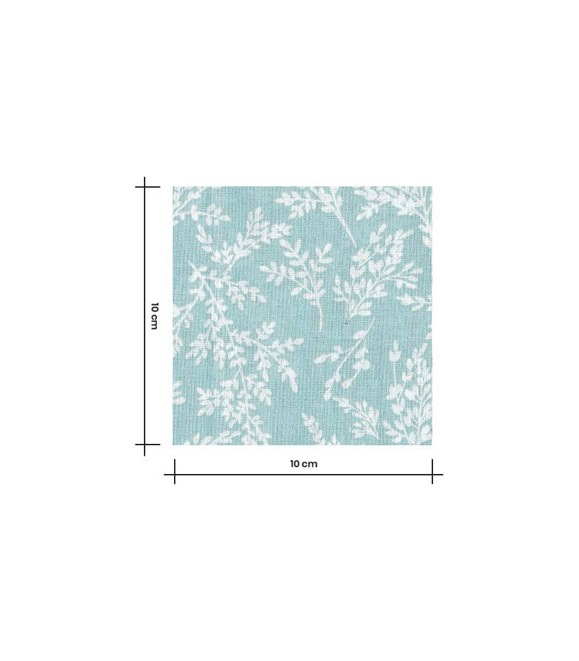 Tissu coton - Brins Celadon
