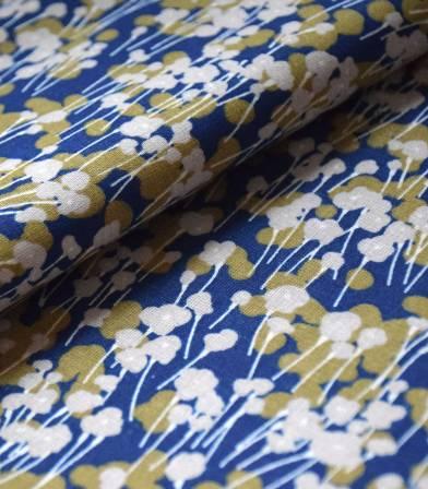 Tissu coton - Prairie Celeste