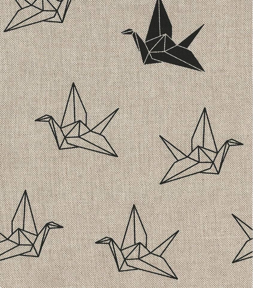 Demi/natté origami