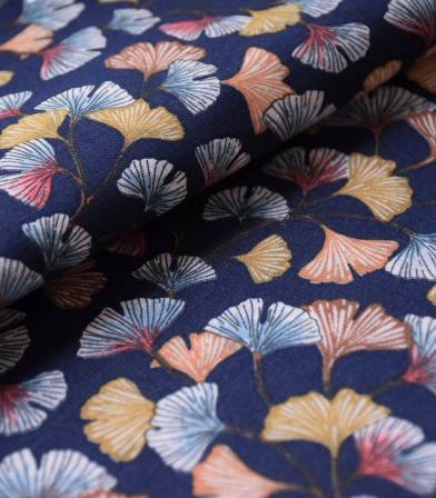 Tissu coton - Aphrodite Marine