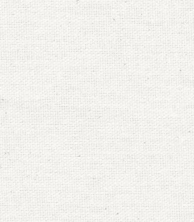Tissu coton demi natté blanc