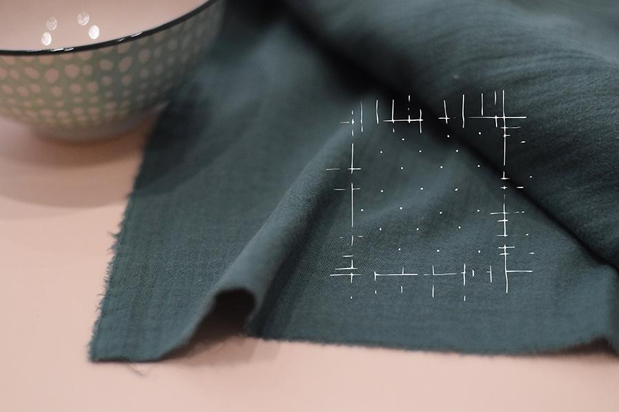 Textile-double-gaze