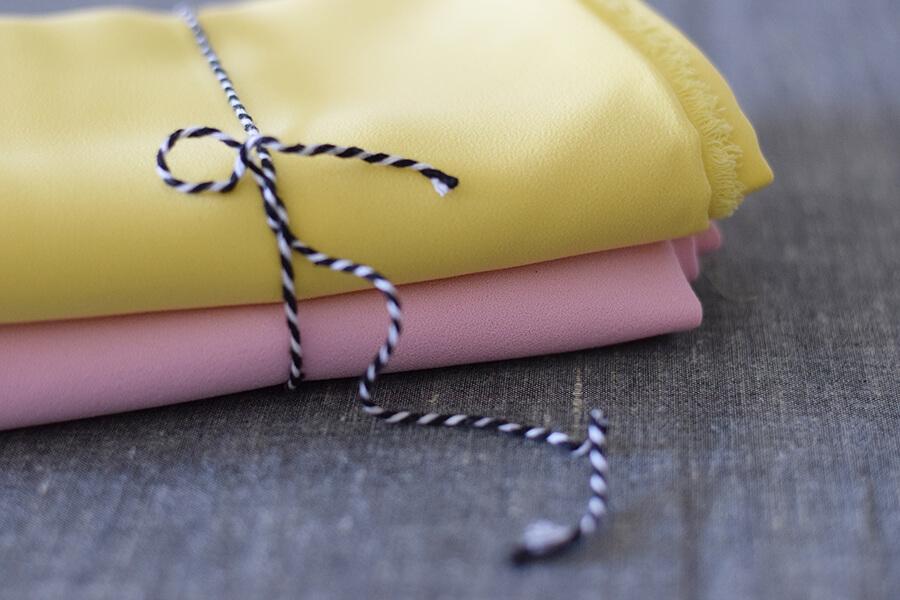 Tissus polyester